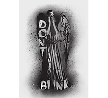 Whatever you do, don't blink.  Photographic Print