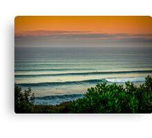 Bells Beach Aqua Canvas Print
