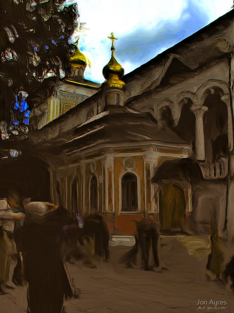 A Small Chapel for a Tsar by Jon Ayres