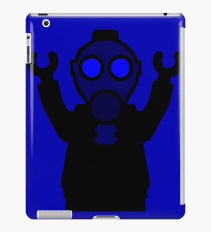 Apocalyse Minifigure wearing Gasmask iPad Case/Skin