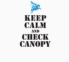 KEEP CALM AND CHECK CANOPY - PEGASUS Unisex T-Shirt
