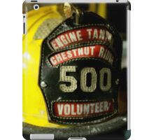 The World Of a Firefighter iPad Case/Skin