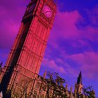 Big Ben In Blue by drjones
