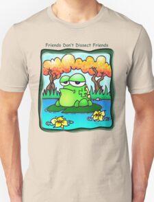 Friends Don't Dissect Friends T-Shirt