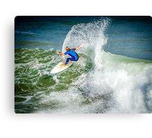 Bells Beach Turn Canvas Print
