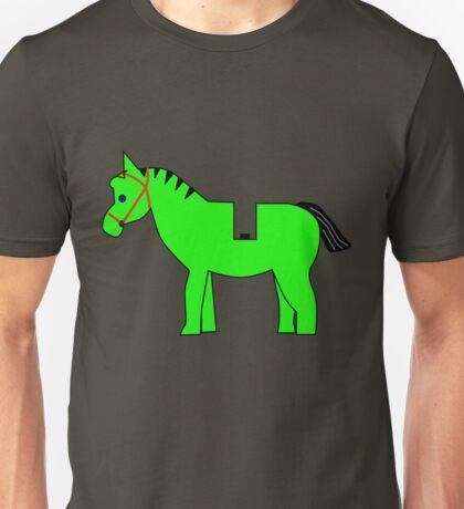 Interpretation of a Minifig Horse Unisex T-Shirt
