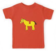 Interpretation of a Minifig Horse  Kids Tee