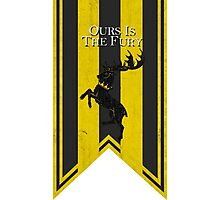 House Baratheon: Ours Is The Fury Photographic Print