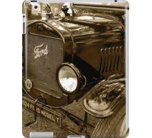 1924 Ford Model T iPad Case/Skin