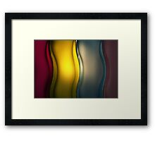 Jar by Torch Light Framed Print