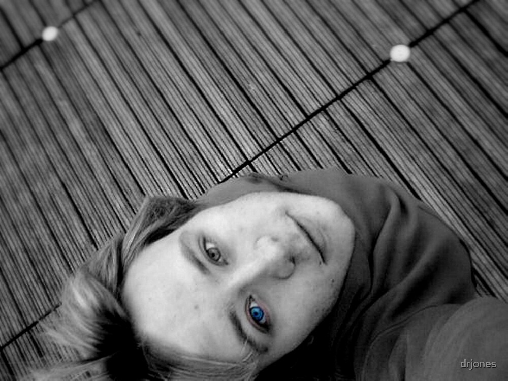 Self Portrait- Behind Blue Eyes by drjones