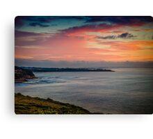 Bells Beach Sunrise Canvas Print
