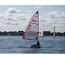 Tera On The Waves Photographic Print