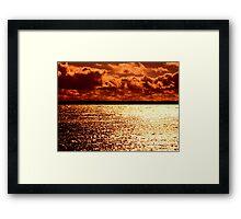 Double Orange Framed Print