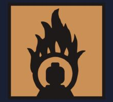 MINIFIG IN FLAME LOGO  Kids Clothes