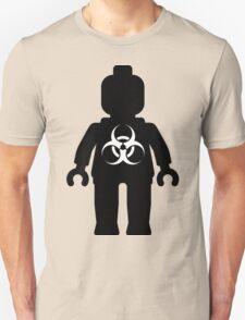 Minifig with Radioactive Symbol T-Shirt
