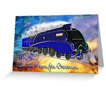 We Are Coming Home for Christmas - greeting card Greeting Card