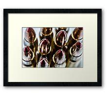 50 cal #2 Framed Print