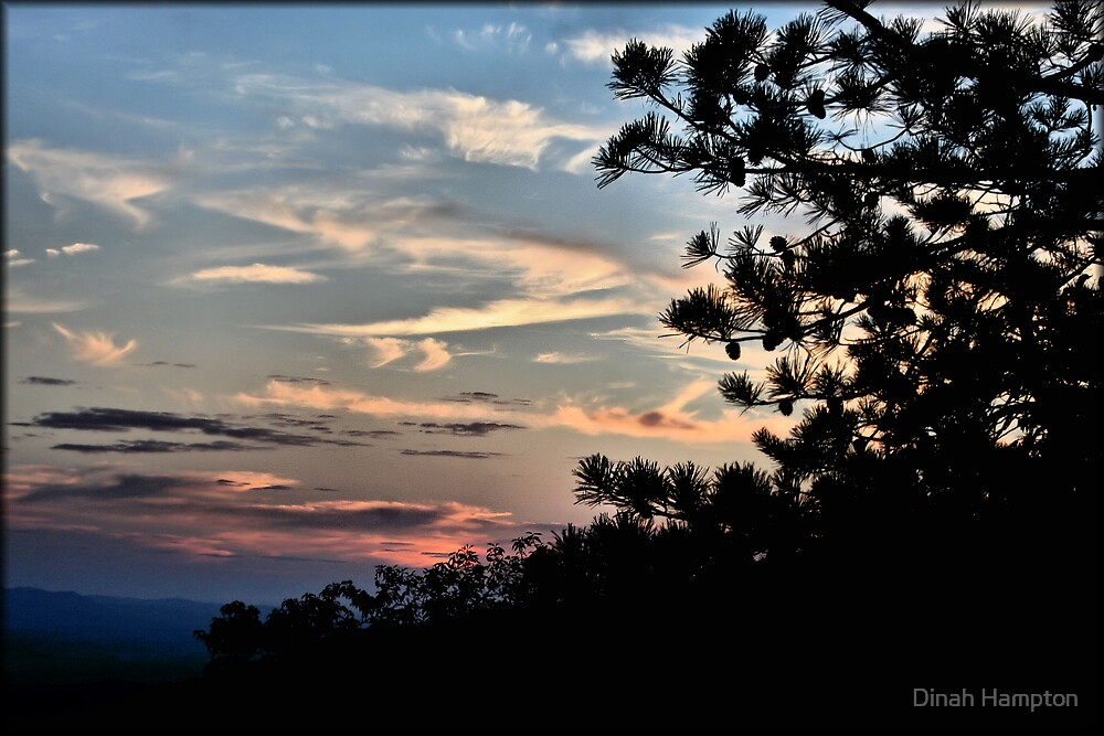 Va. Sunset by Dinah Hampton
