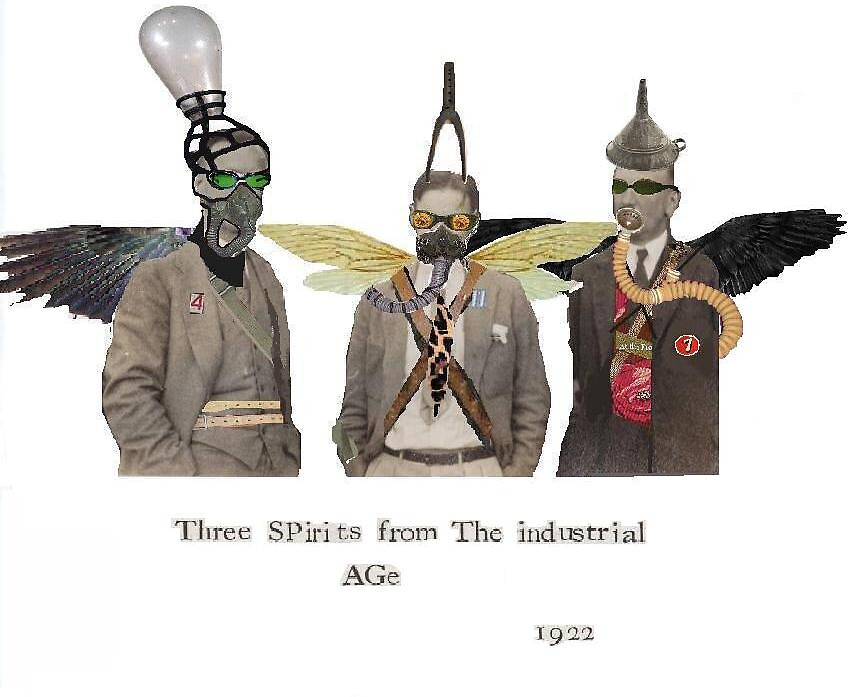 3 souls from the industrial age by Dave Bradley