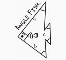 Angle fish - parody Kids Tee