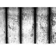Brass Pillars (Black & White) Photographic Print