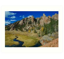 Still The Old West! Art Print