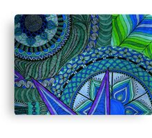Bruton Blue Canvas Print