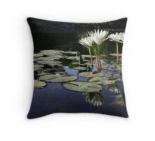 Lilypond Throw Pillow