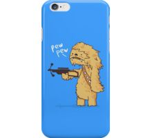 Chewy - pew pew you're dead iPhone Case/Skin
