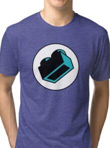 1 x 2 Brick  Tri-blend T-Shirt