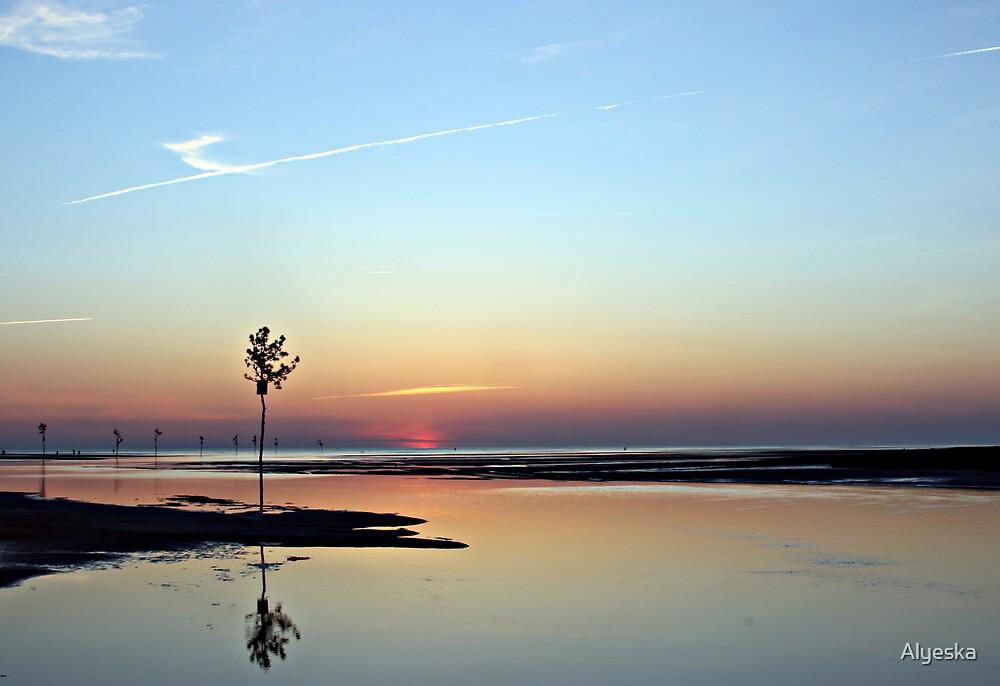 Rock Harbor at Sunset by Alyeska