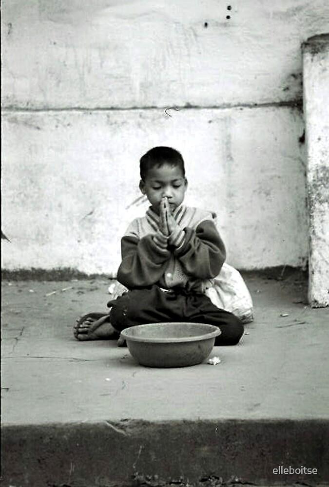 boy begging by elleboitse