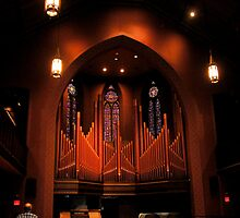 Chapel Organ in Color by MrsBuden