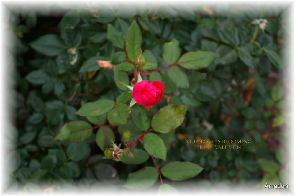 Blooming Love Valentine by Amedori