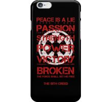 The Sith Creed iPhone Case/Skin
