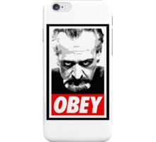 Obey Your Master! iPhone Case/Skin