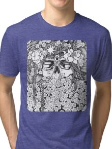 Flower Bed Tri-blend T-Shirt