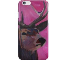Winters Deer Family with Fawn and Hind iPhone Case/Skin