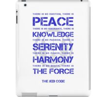 The Jedi Code iPad Case/Skin