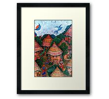 That was my country - Mi país que fue Framed Print