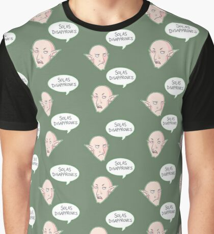 Solas Disapproves Graphic T-Shirt