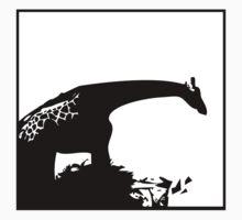 Giraffe - Silhouette Kids Clothes
