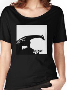 Giraffe - Silhouette Women's Relaxed Fit T-Shirt