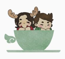 winchester in a cup | stickers by fottantuno