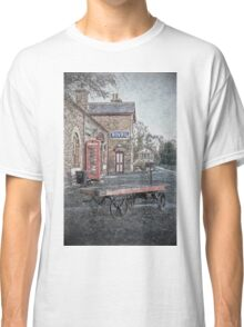 Vintage Hadlow Road in Oils Classic T-Shirt