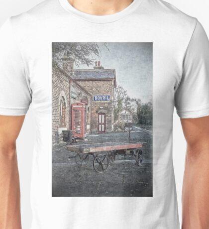 Vintage Hadlow Road in Oils Unisex T-Shirt