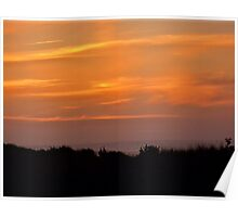 Copalis Sunset Poster