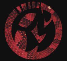 rattlesnake emblem by Jiro Tamase