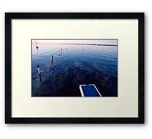 Choose now Framed Print